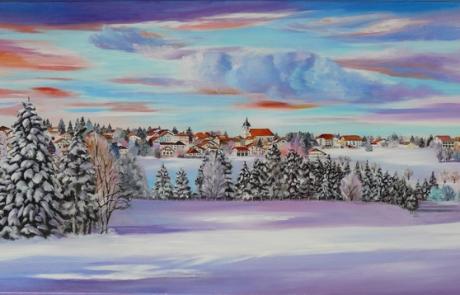 Bel hiver a Montfaucon <br /> VENDUE