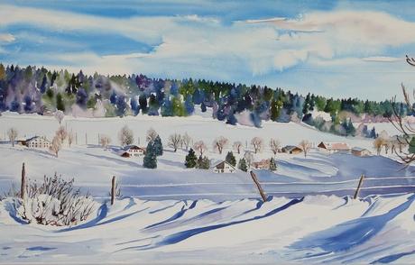 L hiver aux Communances-Dessous <br /> VENDUE