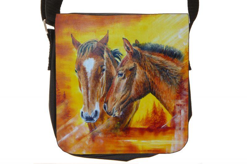 Tendresse des chevaux